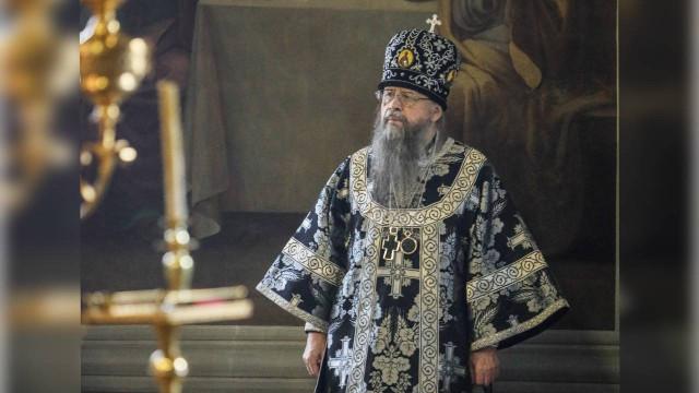 Патриаршее поздравление наместнику Данилова монастыря епископу Алексию с 50-летием монашеского пострига | Московский Данилов монастырь