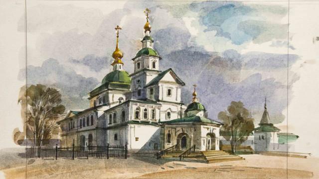 Онлайн-путешествие по Данилову монастырю | Московский Данилов монастырь