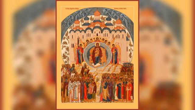 Похвала Пресвятой Богородицы | Московский Данилов монастырь