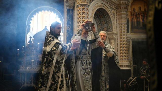 Насельник Данилова монастыря удостоен богослужебно-иерархической награды   Московский Данилов монастырь