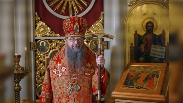 Поздравление с Пасхой епископа Алексия | Московский Данилов монастырь