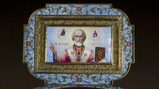 Перенесение мощей святителя чудотворца Николая  из Мир Ликийских в Бари (1087) | Московский Данилов монастырь
