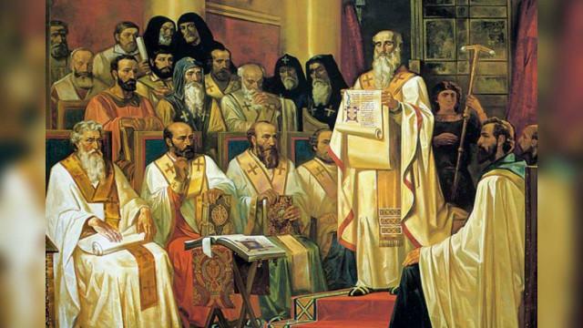 Память святых отцов Первого Вселенского Собора (325) | Московский Данилов монастырь