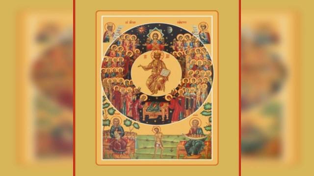 Неделя 1-я по Пятидесятнице, Всех святых | Московский Данилов монастырь