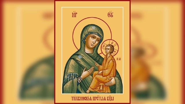 Тихвинская икона Божией Матери | Московский Данилов монастырь