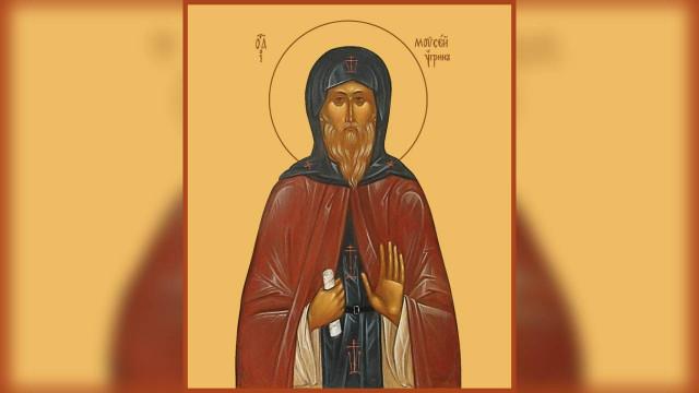 Преподобный Моисей Угрин, Печерский, в Ближних пещерах | Московский Данилов монастырь