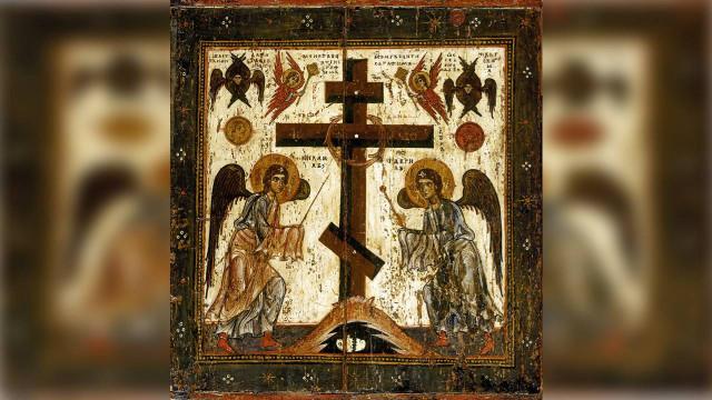 Изнесение Честных Древ Животворящего Креста Господня | Московский Данилов монастырь