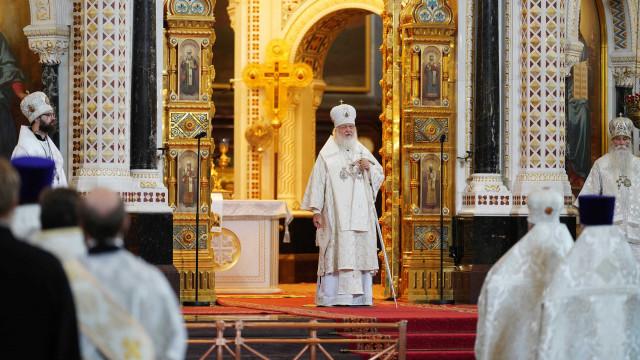 Проповедь Святейшего Патриарха Кирилла в праздник Преображения Господня   Московский Данилов монастырь