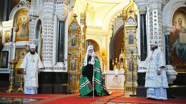 Проповедь Святейшего Патриарха Кирилла в Неделю 9-ю по Пятидесятнице   Московский Данилов монастырь
