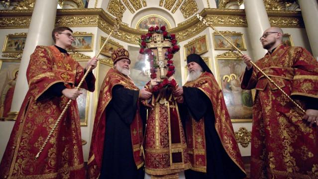 Воздвижение Честного и Животворящего Креста Господня | Московский Данилов монастырь