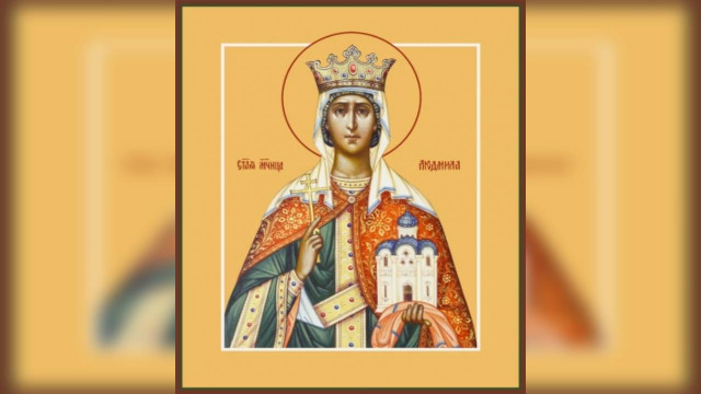 Мученица Людмила, княгиня Чешская (927)   Московский Данилов монастырь