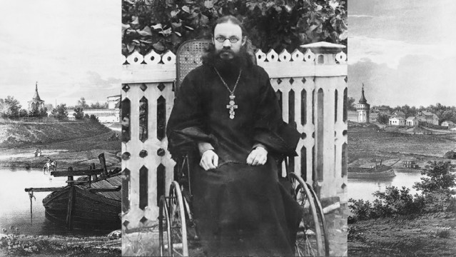 Архимандрит Симеон (Холмогоров)   Московский Данилов монастырь